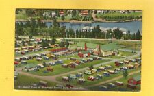 Tampa,FL,Florida Aerial View of Municipal Trailer Park used 1952