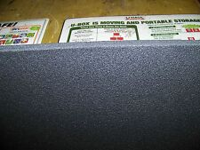 "1"" Closed Cell Foam High Density Auto Upholstery Crafts 40""w x 60"" Long"