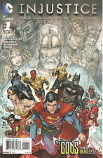 Injustice  #1   Gods Among Us Year Four  Regular Cover