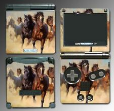 Horse Pony Stallion Mare Video Game Vinyl Decal Skin for Nintendo GBA SP