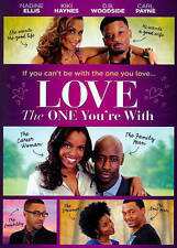 LOVE THE ONE YOU'RE WITH..DVD Nadine Ellis, D.B. Woodside...quick shipping