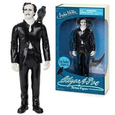 Edgar Allan Poe Action Figure Figure Doll Literature Toy Gag Novelty With Raven