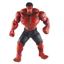 "10"" Marvel Universe Avengers Figure Incredible RED Hulk Collection Gift FG154"