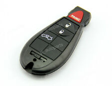 Remote Key Blank Shell Case Pad Cover Replacement Fobik For Chrysler 4 Button BT