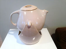 Roseville Raymor Swinging Coffee Pot with Stand in Off White By Ben Seibel