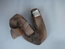 2001-2005 SATURN L300  L SERIES RIGHT REAR SEAT BELT BUCKLE  ASSY TAN OEM
