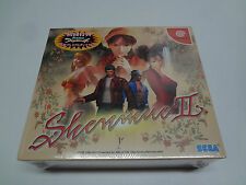 Sega Dreamcast - Shenmue II 2 Limited Japan *100% FACTORY SEALED FOR COLLECTION*
