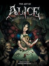 The Art of Alice: Madness Returns by American McGee (Hardcover) {BRAND NEW}