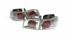 HONDA CIVIC EG6 EG HATCHBACK 3Dr LEXUS STYLE CLEAR REAR TAIL LIGHTS LAMPS Y3286