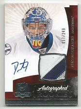 10-11 Dustin Tokarski The Cup Auto Rookie Card RC #147 Jersey Patch 057/249