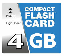 4 GB Compact Flash scheda CF per Nikon Coolpix 600