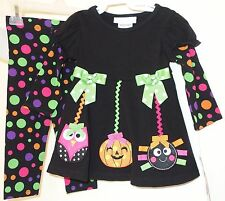 NWT Bonnie Baby Two Piece Halloween Outfit Girl's Size 12 Month