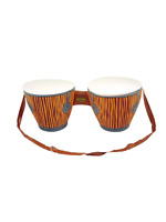 Inflatable Bongo Drums African Tropical Beach Party Fancy Dress Hawaiian Luau