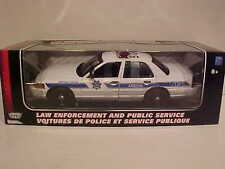 2001 Ford Crown Victoria Arizona Police Interceptor Die-cast Car 1:18 DPS 10inch