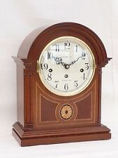 Hermle, Howard Miller, Mahogany Westminster Bracket Mantle Mantel Chime Clock