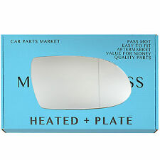 For MERCEDES SLK R171 04-On Wide Angle Heated +BP Right Side Wing Mirror Glass