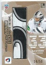 KHL 2013-14 GOLD Jakub Stepanek #STI-007  14/50 STICK Part of the game