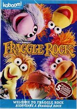 NEW CHILDREN'S DVD //  JIM  HENSON // WELCOME TO  FRAGGLE ROCK // 5 EPISODES //