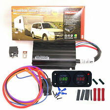 REDARC BCDC1240 DUAL BATTERY SYSTEM DC TO DC CHARGER +80A RELAY KIT