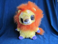 """BARBARY LION Aurora Yoo Hoo & Friends Plush with Roar Sound 7.5"""" exc condition"""