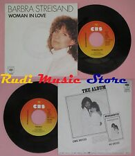 LP 45 7'' BARBRA STREISAND Woman in love Run wild 1980 holland CBS no cd mc dvd*
