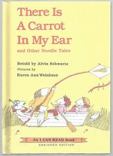 Children's Beginner Book THERE IS A CARROT IN MY EAR and Other Noodle Tales
