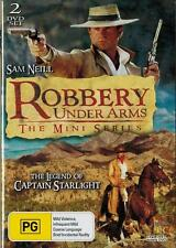 ROBBERY UNDER ARMS - MINI SERIES, Sam Neill 2 Dvd set. Captain Starlight. NEW