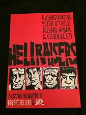 HELLRAISERS: A GRAPHIC BIOGRAPHY Trade Paperback