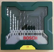 Genuino Bosch Hazlo tú mismo 15 piezas Taladro Madera Metal-masonary 2607019675 3165140465274'