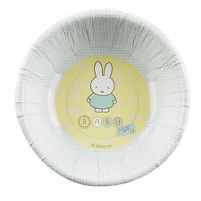 8 Baby Miffy Paper Bowls Shower Christening 1st First Birthday Party Celebration