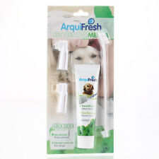 New Grooming Toothbrush and Toothpaste PP Plastic Pet Dog White Free Shippi