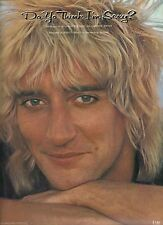 ROD STEWART  Do You Think I'm Sexy  sheet music songsheet