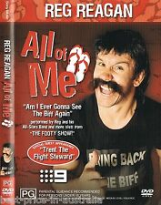 REG REAGAN: ALL Of ME DVD LIKE NEW RARE TV Channel 9 Footy Show RUGBY LEAGUE R4