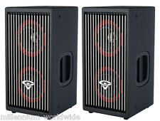 "2 CERWIN VEGA CVA-28 800W POWERED ACTIVE SPEAKERS - 8"" WOOFERS Authorized Dealer"