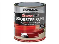 Ronseal Diamond Hard Doorstep Paint Red 250ml