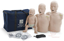 The Prestan MS Collection CPR AED Manikins (Adult-Child-Infant) PP-FM-300M-MS