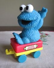 Sesame Street Tyco  VINTAGE Cookie Monster Train Car from Big Bird's Wind Up