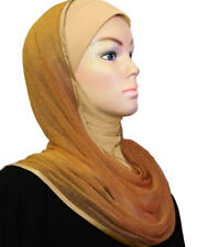 NEW Kuwaiti Slip On Glittery Hot Drill Hijab Party hijab Wedding Mesh Wrap Scarf