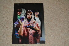 KLAXONS  signed autograph In Person 8x11 (20x28 cm) NEW RAVE INDIE ROCK BAND