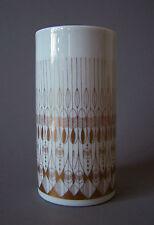 Porzellan Vase Rosenthal Studio Linie Hans Theo Baumann 1960 Golddekor 1. Wahl