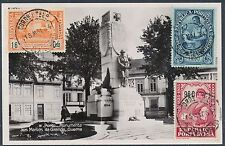 1934 Portugal RPPC Postcard cover Monument to the WW 1 Dead