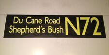"Shep 1103 Bus Blind (42"") - N72 Du Cane Road Shepherd's Bush"