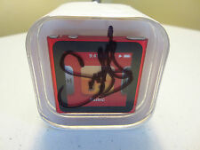 *** SNOOP DOG AUTOGRAPHED SIGNED ***  Apple iPod nano 6th Gen  RED (8 GB)