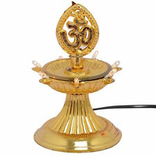 1 Layer OM-Electric Gold Diya Deepak LED Light Diwali Home decoration LED Light