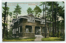 Electricity House Early Exclusive Use Electricity Schenectady New York postcard