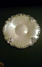 "Vintage International Silver Co ORLEANS 12"" Round Sandwich Serving Plate"