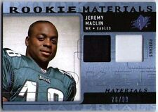 JEREMY MACLIN 2009 SPX Rookie Materials Dual Swatch Patch Jersey Card 76/99