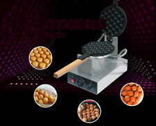 Stainless Steel Electric Egg cake oven QQ Egg Waffle Maker machine new 110/220v