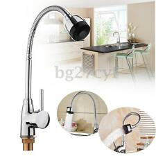 Kitchen Laundry Spout 360° Swivel Pull out Faucet Sink Basin Hot Cold Mixer Tap
