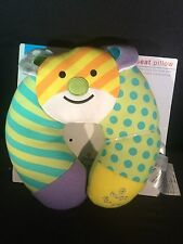 Romero Britto Baby Travel Bear Car Seat Pillow Neck Rest